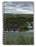 Icelandic Waterfall Spiral Notebook