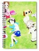 Ichigo Mashimaro Spiral Notebook