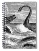 Ichthyosaurus And Plesiosaurus Spiral Notebook