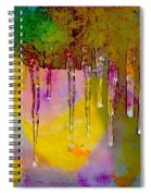 Icicicle Kalidescope Spiral Notebook