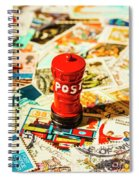 Iconic British Mailbox Spiral Notebook