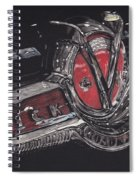 Icons Buick V8 Spiral Notebook