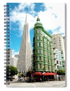 Icons Of San Fran Spiral Notebook