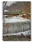 Icy Conditions Spiral Notebook