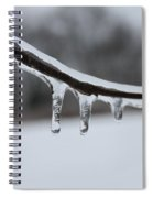 Icy Finger Spiral Notebook