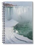 Icy Fury - Niagara Falls Spectacular Ice Buildup Spiral Notebook
