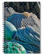 Icy Gear Spiral Notebook