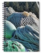 Icy Gear Hdr Spiral Notebook