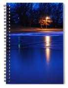 Icy Glow Spiral Notebook