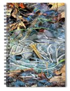 Icy Patterns Spiral Notebook
