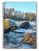 Icy Waters 2 Spiral Notebook