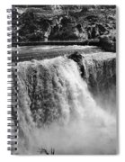 Idaho: Bridal Veil Falls Spiral Notebook