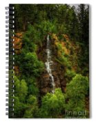 Idaho Springs Waterfall Spiral Notebook