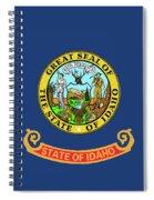 Idaho State Flag Spiral Notebook