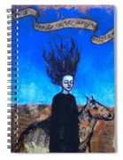 Idontcareanymore Spiral Notebook
