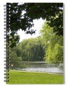 Idyllic Afternoon Spiral Notebook