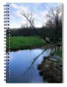 Idyllic Creek Spiral Notebook