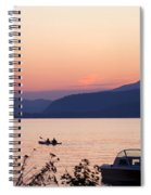 Idyllic Evening Spiral Notebook
