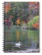 An Idyllic Autumn Spiral Notebook