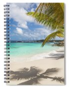 Idyllic Salomon Beach Spiral Notebook