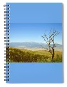 Idyllwild Mountain View With Dead Tree Spiral Notebook