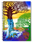 If A Tree Falls In Sicily Color 2 Spiral Notebook