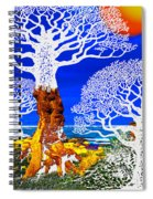 If A Tree Falls In Sicily White Spiral Notebook