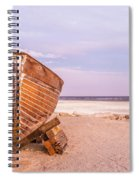 If I Had A Boat Spiral Notebook