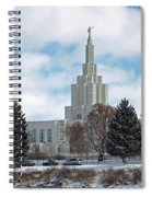 If Temple After Snow Spiral Notebook