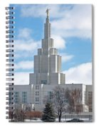 If Temple Against The Sky Spiral Notebook