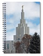 If Temple Dusted In Snow Spiral Notebook