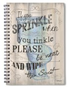 If You Sprinkle Spiral Notebook