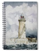 ighthouse Kereon Ouessant island Britain Spiral Notebook