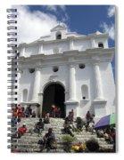 Iglesia De Santo Tomas Church Spiral Notebook