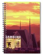 Iglesia Ni Cristo Sunset Cebu City Philippines Spiral Notebook