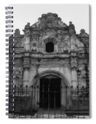 Iglesia San Jose El Viejo - Antigua Guatemala Bnw Spiral Notebook