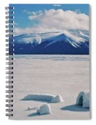 Igloo On Atlin Lake - Bc Spiral Notebook