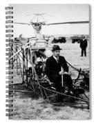 Igor Ivan Sikorsky Spiral Notebook