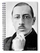 Igor Stravinsky, Russian Composer Spiral Notebook