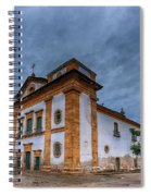 Igreja Matriz Spiral Notebook