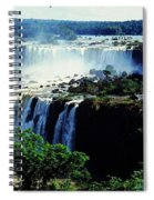 Iguacu Waterfalls Spiral Notebook