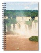 Iguazu Falls 2 Spiral Notebook