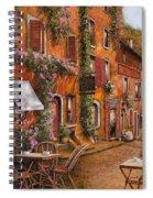 Il Bar Sulla Discesa Spiral Notebook