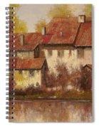 Il Borgo Rosso Spiral Notebook