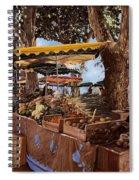 il mercato di St Paul Spiral Notebook