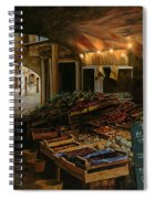 Il Mercato Francese Spiral Notebook