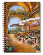 Il Mercato Sotto I Portici Spiral Notebook
