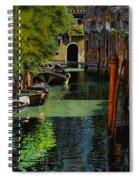 il palo rosso a Venezia Spiral Notebook