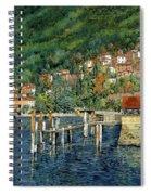 il porto di Bellano Spiral Notebook