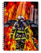 I'll Carry Your Load Brother - Oil Spiral Notebook